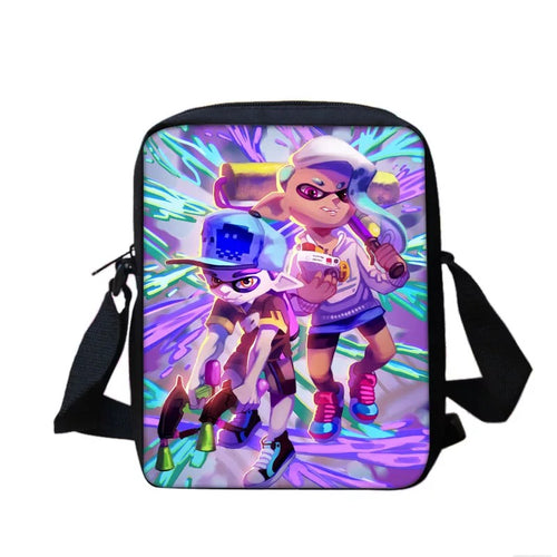 Game Splatoon #5 Lunch Box Bag Lunch Tote For Kids