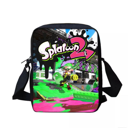 Game Splatoon #6 Lunch Box Bag Lunch Tote For Kids
