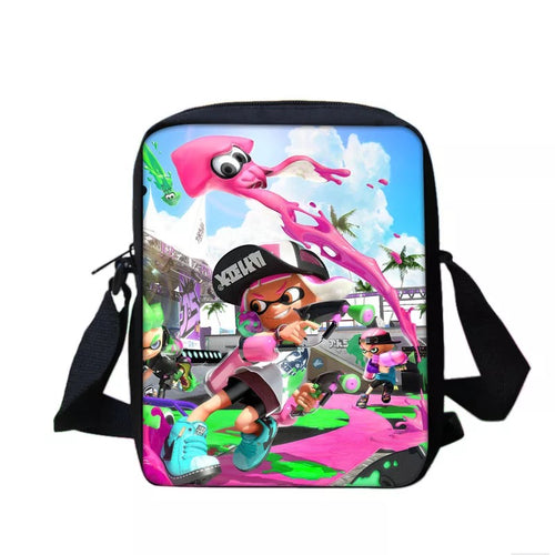 Game Splatoon 2 #7 Lunch Box Bag Lunch Tote For Kids