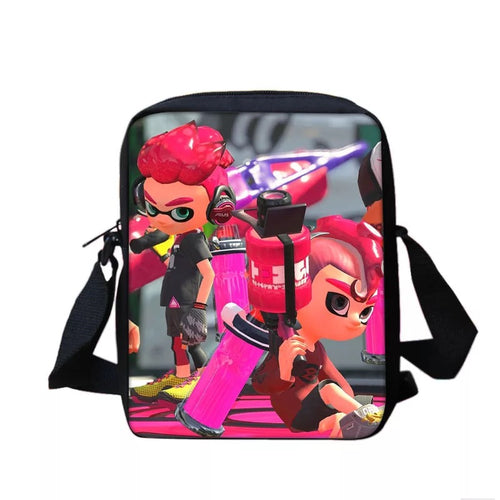 Game Splatoon 2 #8 Lunch Box Bag Lunch Tote For Kids
