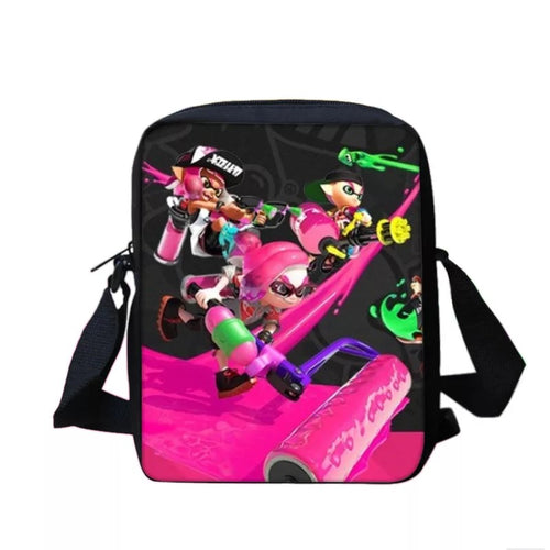 Game Splatoon 2 #9 Lunch Box Bag Lunch Tote For Kids