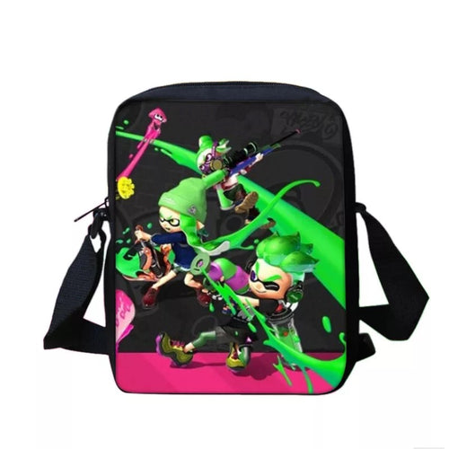 Game Splatoon 2 #10 Lunch Box Bag Lunch Tote For Kids