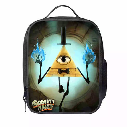 Gravity Falls #4 Lunch Box Bag Lunch Tote For Kids
