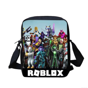 Game Roblox Team #2 Lunch Box Bag Lunch Tote For Kids