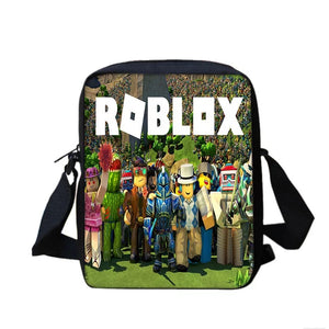 Game Roblox #8 Lunch Box Bag Lunch Tote For Kids