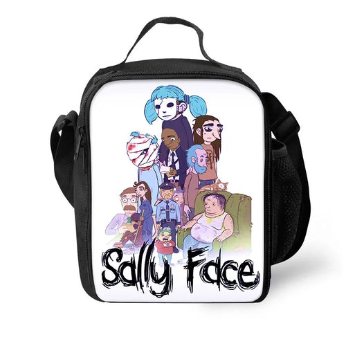 Game Sally Face #8 Lunch Box Bag Lunch Tote For Kids