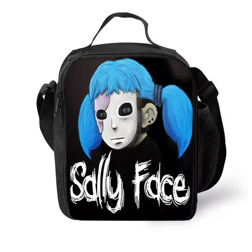 Game Sally Face #9 Lunch Box Bag Lunch Tote For Kids