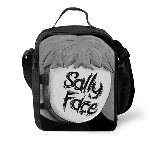 Game Sally Face #10 Lunch Box Bag Lunch Tote For Kids