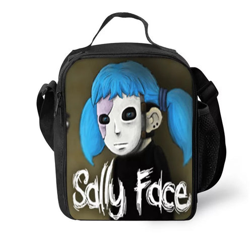 Game Sally Face #15 Lunch Box Bag Lunch Tote For Kids