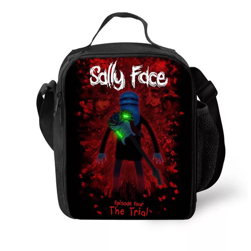 Game Sally Face #17 Lunch Box Bag Lunch Tote For Kids
