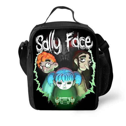 Game Sally Face #20 Lunch Box Bag Lunch Tote For Kids