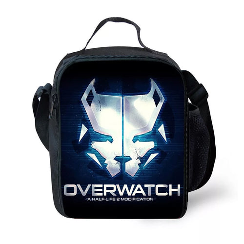 Game Overwatch #8 Lunch Box Bag Lunch Tote For Kids