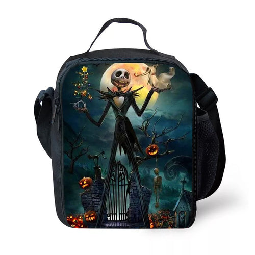 The Nightmare Before Christmas Jack Skellington #2 Lunch Box Bag Lunch Tote For Kids