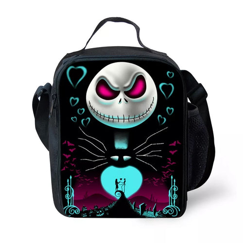 The Nightmare Before Christmas Jack Skellington #3 Lunch Box Bag Lunch Tote For Kids