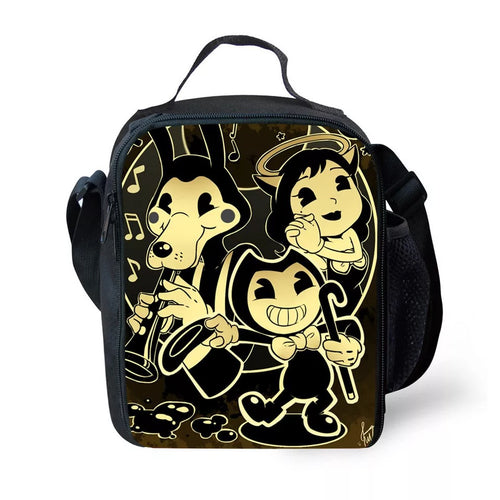 Bendy and the Ink Machine #2 Lunch Box Bag Lunch Tote For Kids
