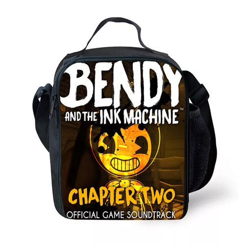 Bendy and the Ink Machine #10 Lunch Box Bag Lunch Tote For Kids