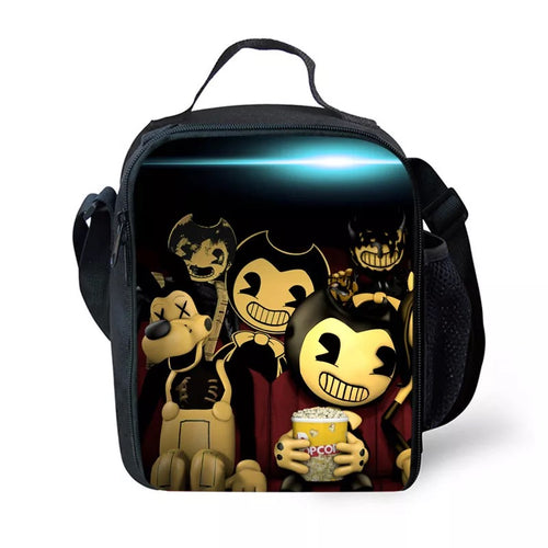 Bendy and the Ink Machine #11 Lunch Box Bag Lunch Tote For Kids
