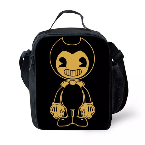 Bendy and the Ink Machine #17 Lunch Box Bag Lunch Tote For Kids