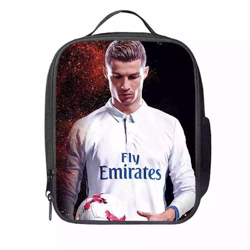 Juventus CR7 Cristiano Ronaldo #5 Lunch Box Bag Lunch Tote