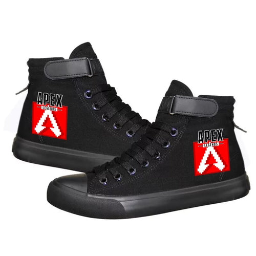 Apex Legends Cosplay Shoes High Top Canvas Sneakers