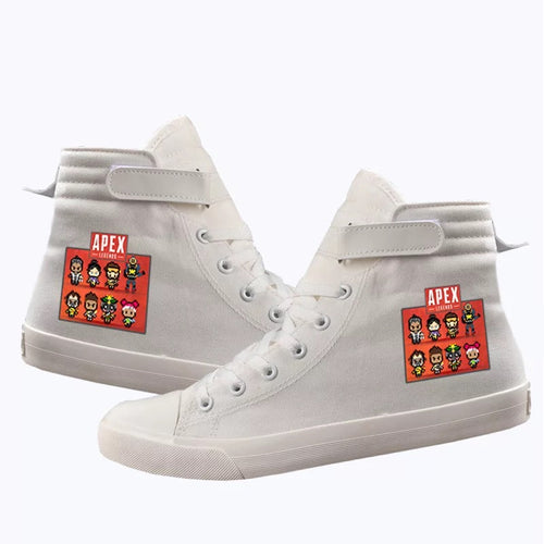 Apex Legends #1 Cosplay Shoes High Top Canvas Sneakers