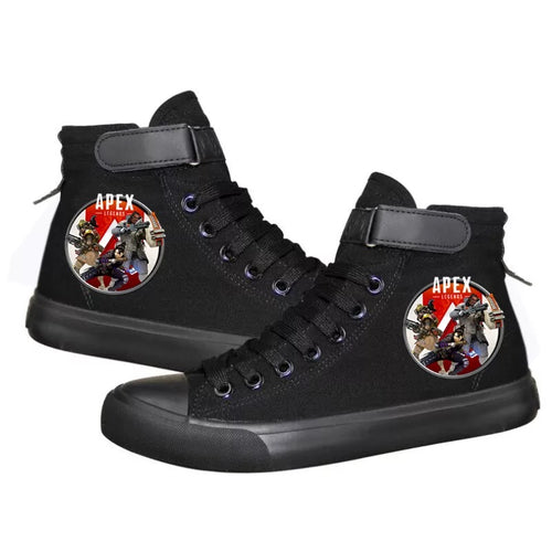 Apex Legends #3 Cosplay Shoes High Top Canvas Sneakers