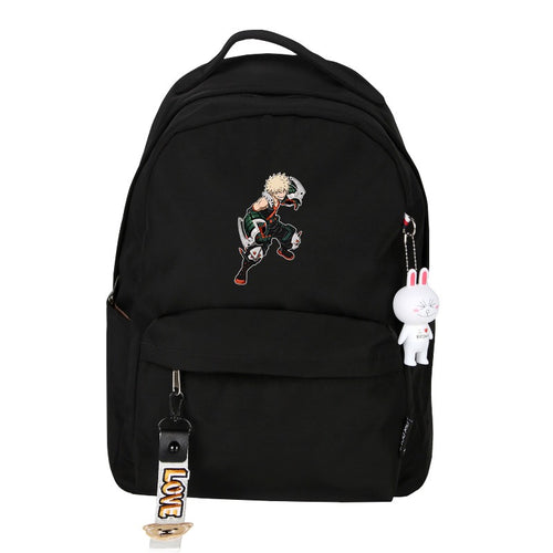 My Hero Academia Katsuki Bakugo Cosplay Backpack School Bag Water Proof