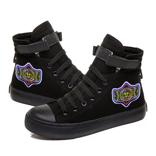 Game Brawl Stars #1 Cosplay Shoes High Top Canvas Sneakers