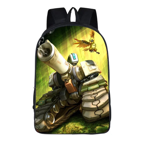 Game Overwatch E54 #1 Backpack School Sports Bag
