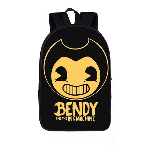 Bendy And The Ink Machine #13 Backpack Notebook School Sports Bag