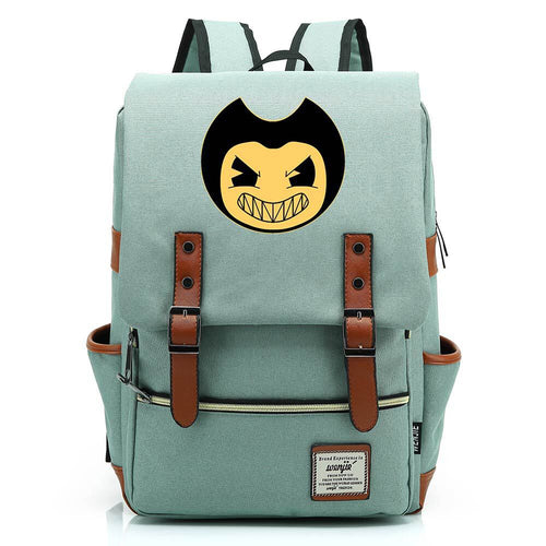 Bendy and the Ink Machine #1 Canvas Travel Backpack School Bag