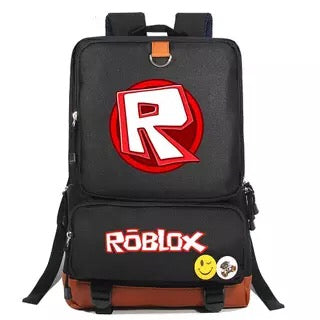 Game Roblox School Bags Water Proof Notebook Backpacks