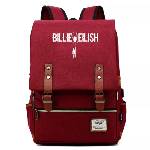 Billie Eilish Bellyache #2 Cosplay Canvas Travel Backpack School Bag