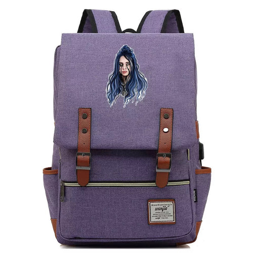 Billie Eilish Crying  #3 Cosplay Canvas Travel Backpack School Bag