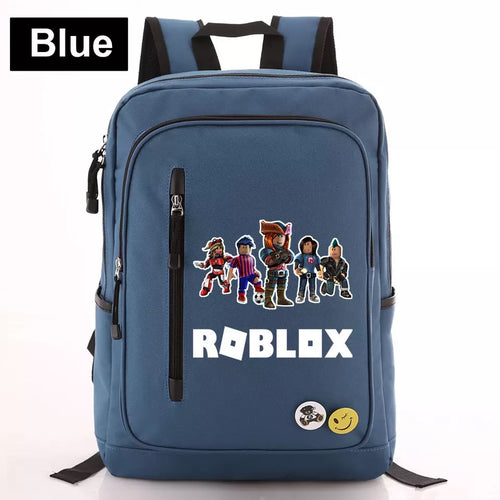 Game Roblox #3 Canvas Travel Backpack School Bag Water Proof