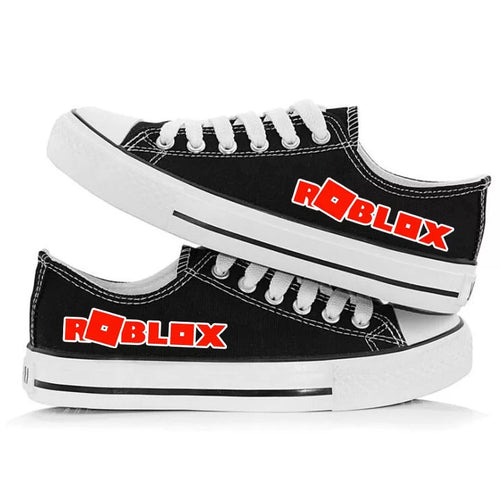 Game Roblox Casual Canvas Shoes Unisex Sneakers