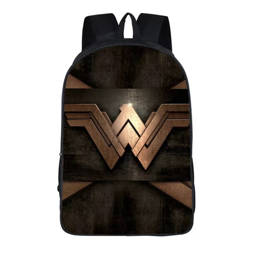 Wonder Woman Diana Prince #1 Cosplay Backpack School Notebook Bag