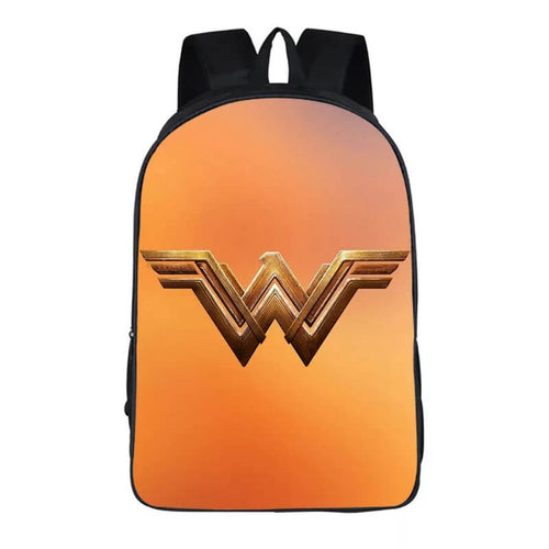 Wonder Woman Diana Prince #18 Cosplay Backpack School Notebook Bag