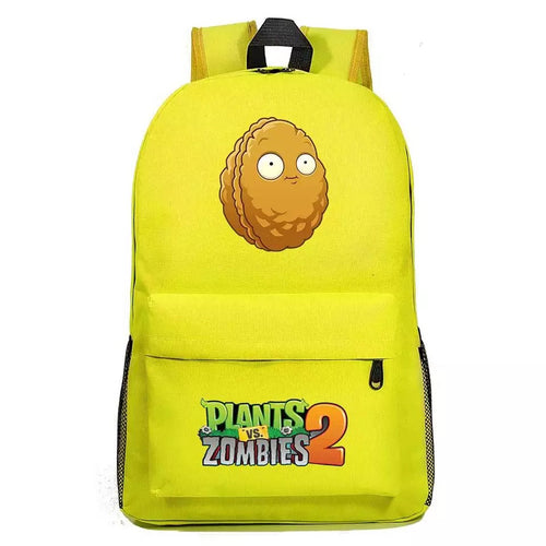 Plants VS Zombie Wall Nut Cosplay Backpack School Bag Water Proof