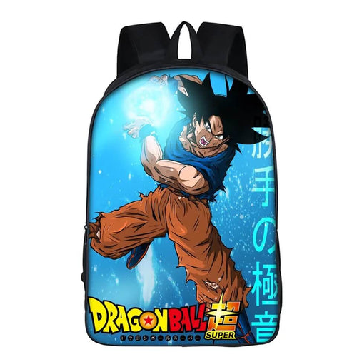 Dragon Ball Son Goku #8 Cosplay Backpack School Notebook Bag