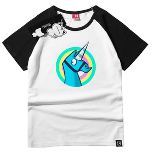 Fortnite Unicorn Summer T-shirt Halloween Cosplay Costume