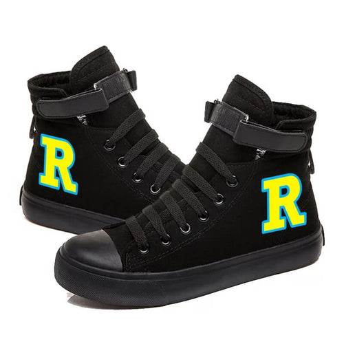 Riverdale South Side Serpents #5 High Tops Casual Canvas Shoes Unisex Sneakers