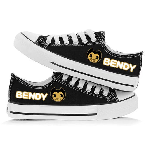 Bendy and the Ink Machine #1 Casual Canvas Shoes Unisex Sneakers For Kids Adults