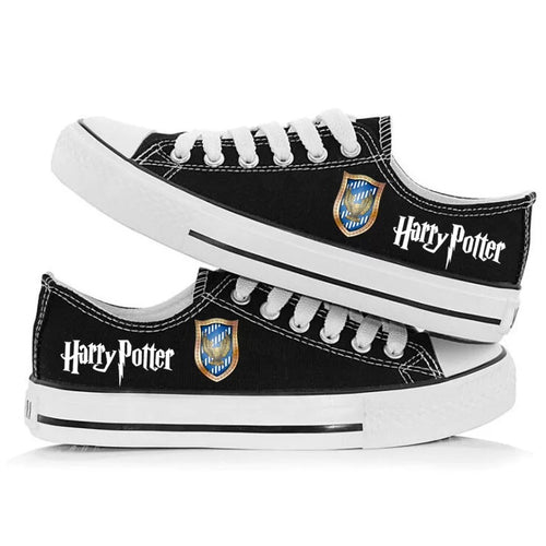 Harry Potter Ravenclaw Hawk Cosplay Shoes Canvas Sneakers For Kids