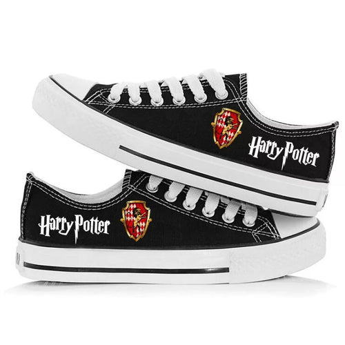 Harry Potter Gryffindor Cosplay Shoes Canvas Sneakers For Kids