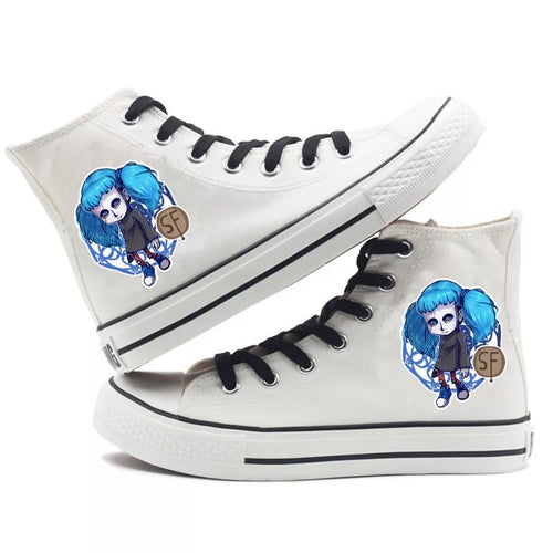 Game Sally Face #1 High Tops Casual Canvas Shoes Unisex Sneakers