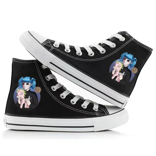 Game Sally Face #3 High Tops Casual Canvas Shoes Unisex Sneakers