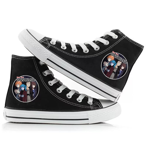 Game Sally Face #4 High Tops Casual Canvas Shoes Unisex Sneakers