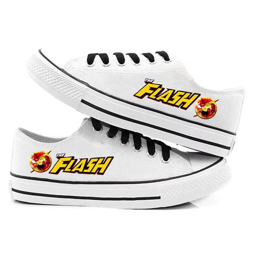 The Flash Barry Allen #2 Casual Canvas Shoes Unisex Sneakers For Kids Adults