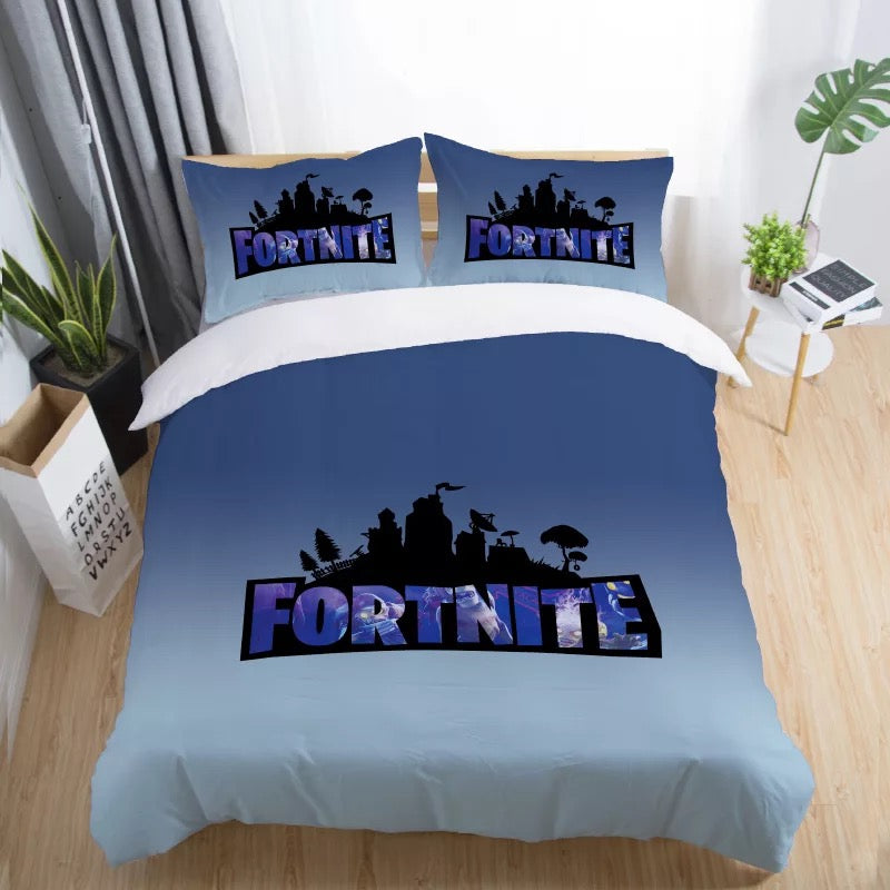 Fortnite Bedding Set Duvet Cover Set Bedroom Set Bedlinen 3D Bag Game Skin Xbox